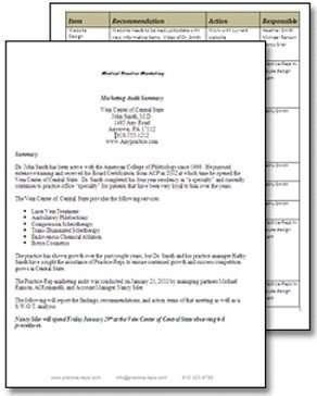 Marketing Audit Report